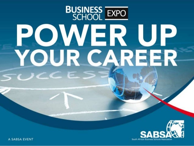 Going Social: SA Business Schools Expo, Sandton Convention Centre