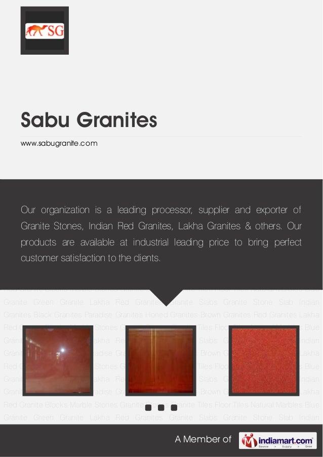 Sabu granites