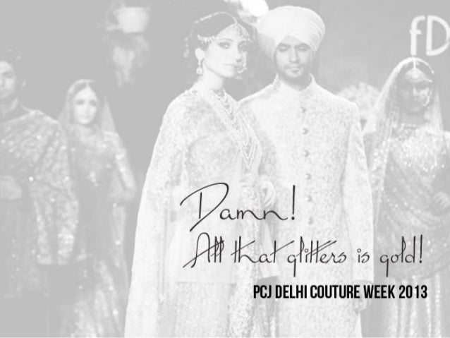 Sabyasachi at the Indian Couture Week 2013 Anju Modi and Sabyasachi Mukherjee opened the fourth edition of the PCJ Delhi C...