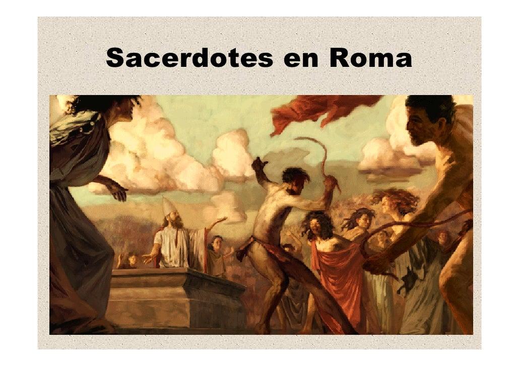 Sacerdotes en Roma
