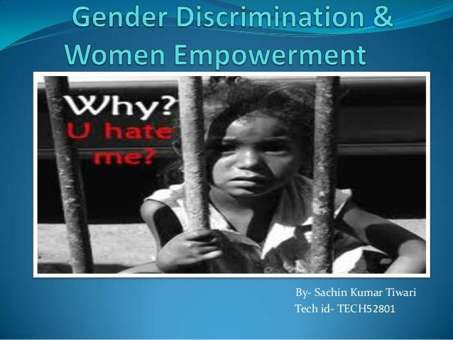 gender dicrimination Learn how to overcome gender inequality and descrimination in the workplace explore the different types of gender discrimination, their effects and how to report them to your employer or government.