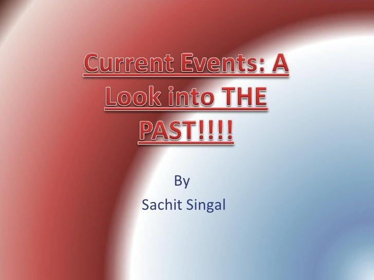 By  Sachit Singal