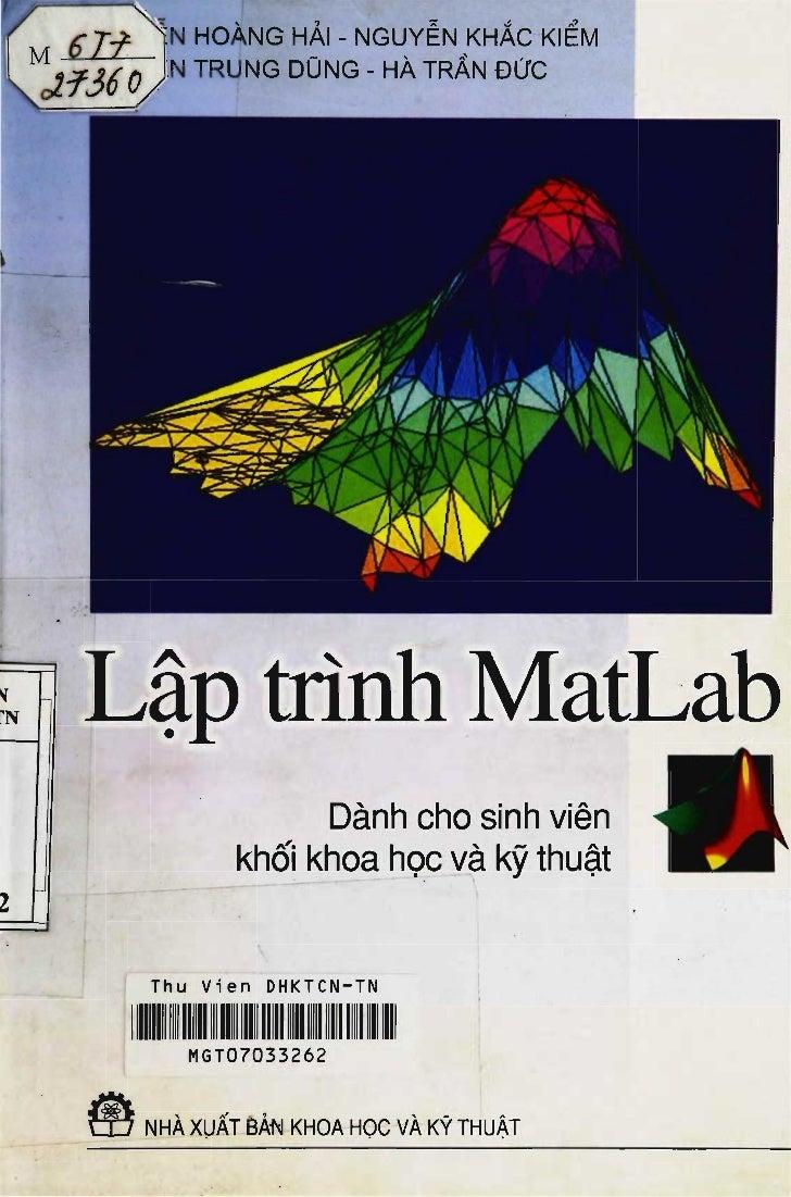 [Sachviet.org]lập trình mat lab   nguyễn hoàng hải
