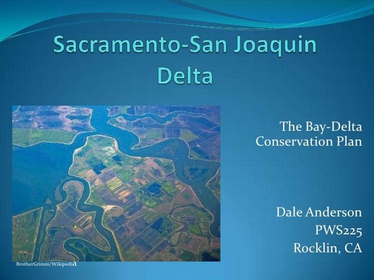 Sacramento San Joaquin Delta