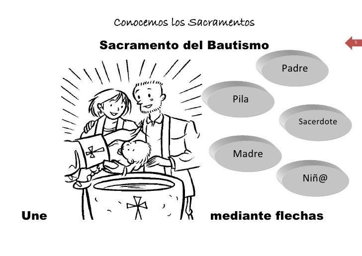 Conocemos los Sacramentos       Sacramento del Bautismo                      5                                         Pad...