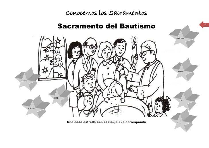 Conocemos los Sacramentos                           Sacramento del Bautismo                                              6...