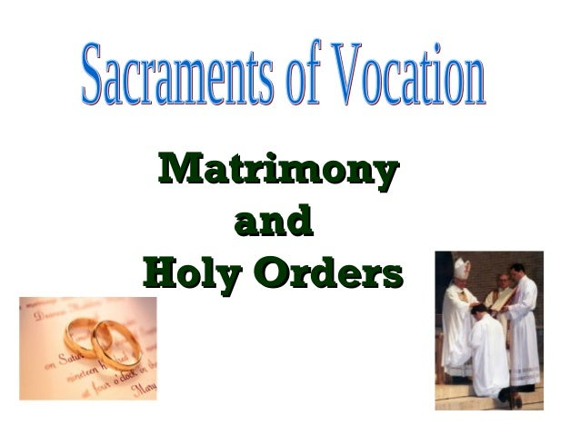 Sacraments vocation1