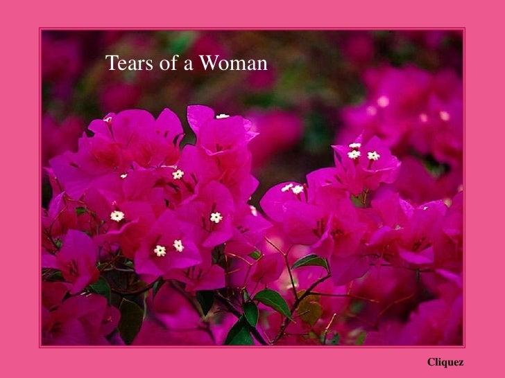 Sacred Tears of a Woman