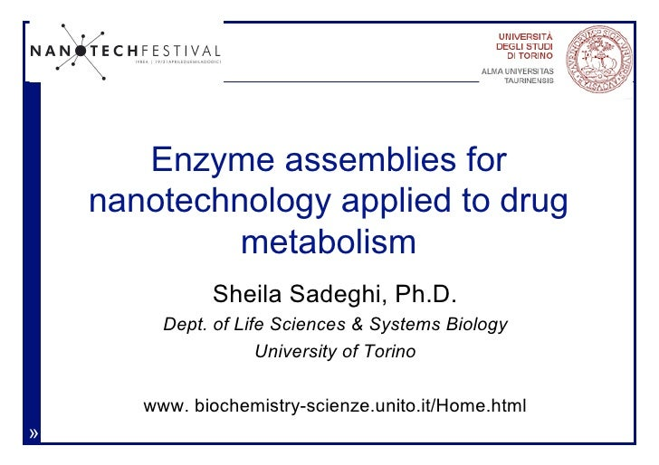 Enzyme assemblies for nanotechnology applied to drug metabolism