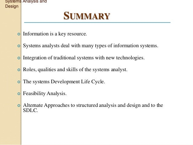 System Analysis And Design Pdf Kendall