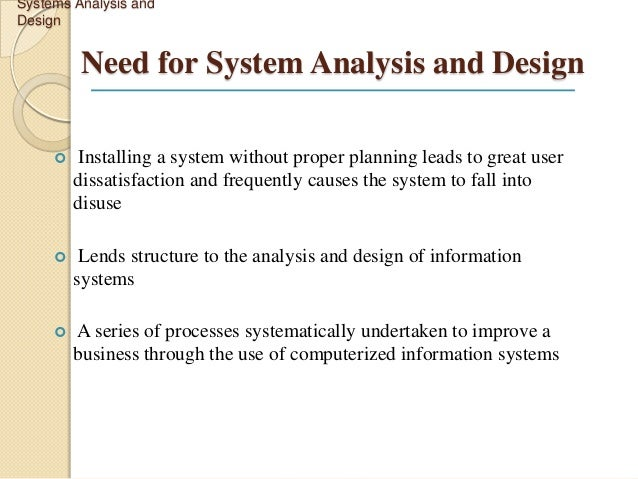 Structured systems analysis and design method - Wikipedia