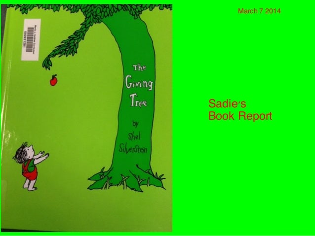 Sadie's Report: The Giving Tree