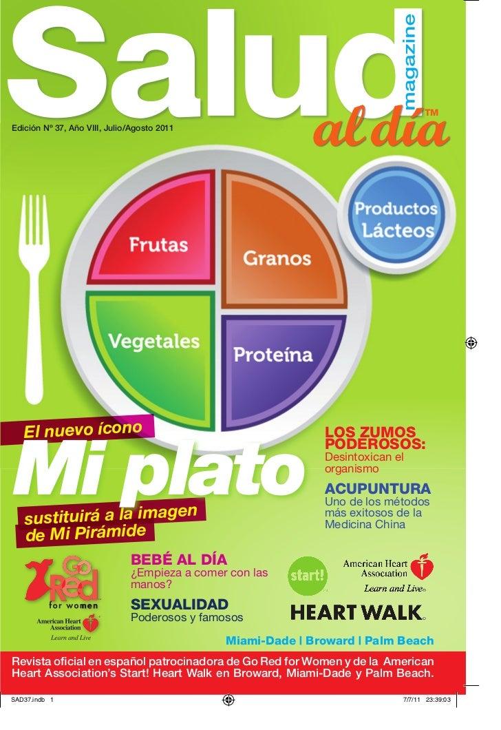 tMEdición Nº 37, Año VIII, Julio/Agosto 2011   El nuevo íconoMi plato                                                     ...