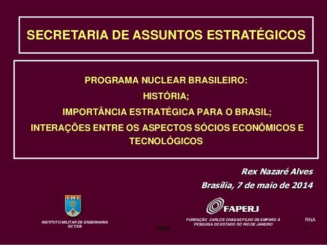 Programa Nuclear Brasileiro: História e importância