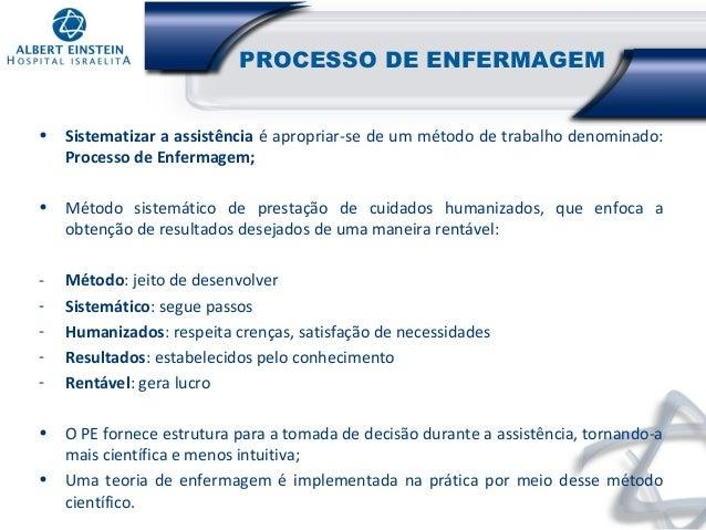 Processo de Enfermagem Sae Processo de Enfermagem