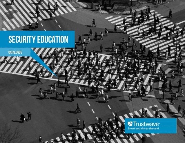 Security Education Catalog