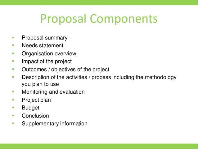 proposal writing ppt