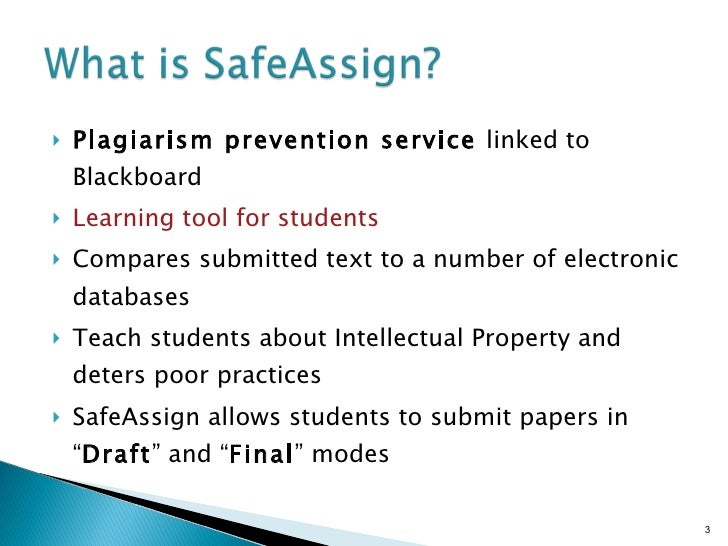 Can a paper submitted on Turn It In be detected as plagiarism on SafeAssign?