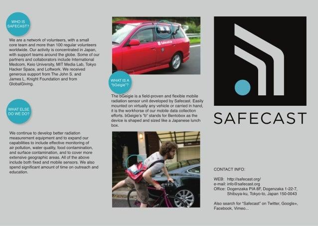Safecast pamphlets 2012