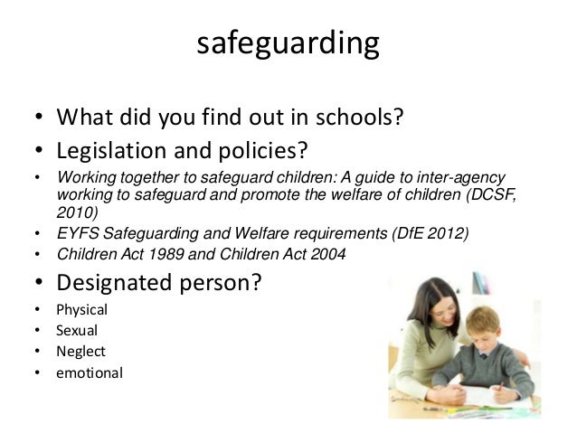 safeguarding the welfare of the child essay In turn, this has resulted in decreased child labour and an overall improvement of  children's well-being access the most recent data on child.