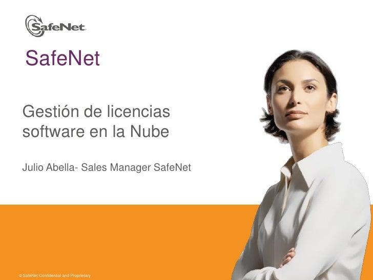Safenet gestión de licencias software en la nube
