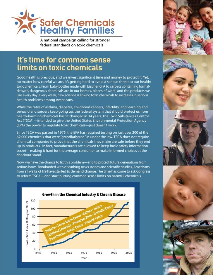 Safer Chemicals - Healthy Families