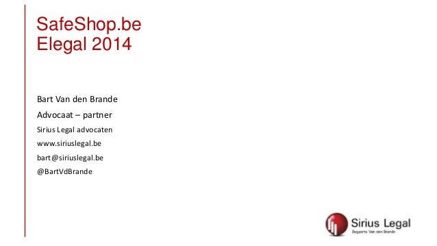 Safe shops.be 20140205