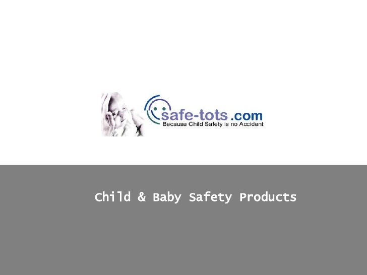 Baby Safety Products from Safe-Tots.com