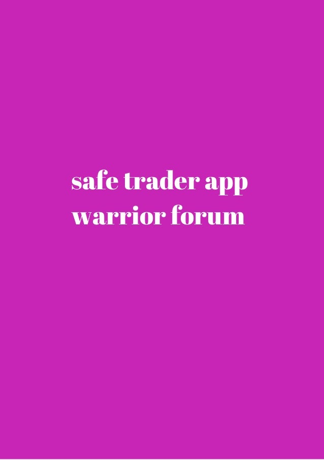 binary options warrior forums and communities