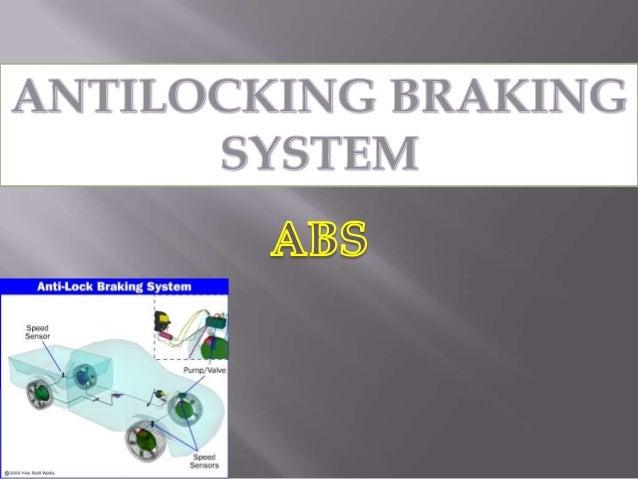safety antilock braking system