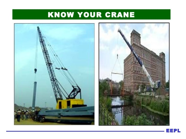 Safety   know your crane