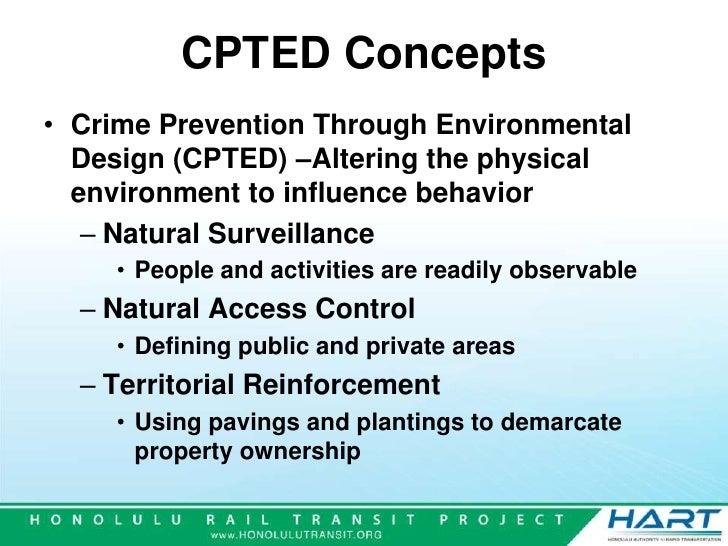 essay on crime prevention through environmental design Crime prevention through environmental design general guidelines for designing safer communities city of virginia beach municipal center virginia beach, va 23456-9040.
