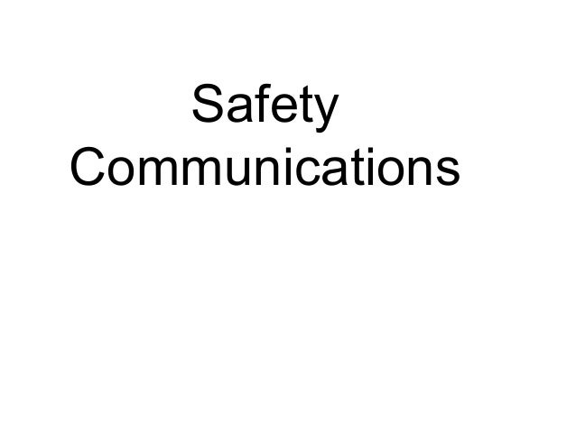 Transnet Freight RAil - Safety communications 2011