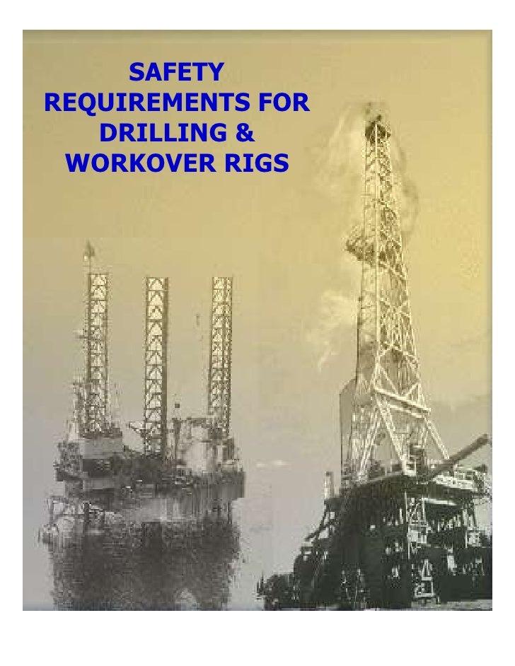 Safety drilling slide show