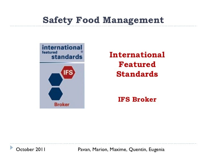 Safety Food Management                              International                                Featured                 ...