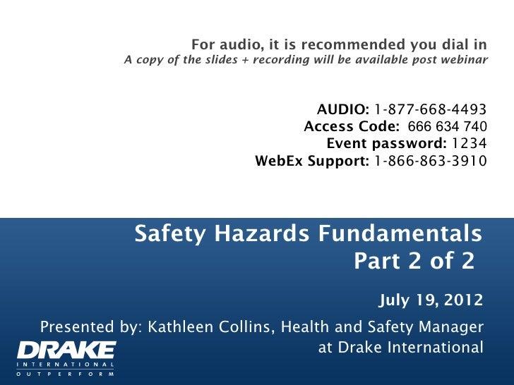 Safety Hazards Part 2