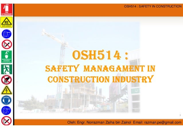 thesis on occupational safety and health management