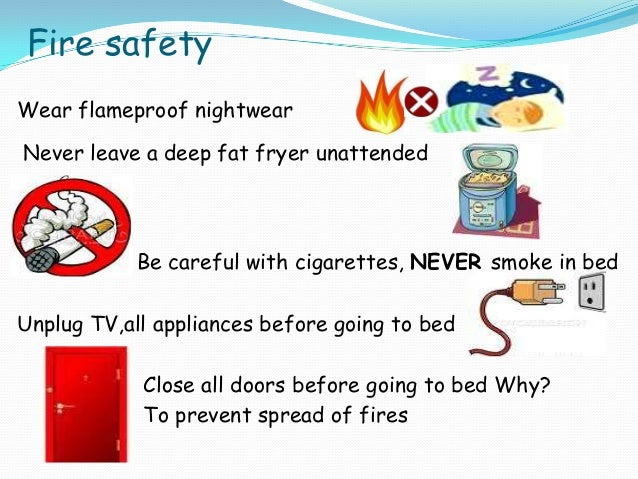 how to avoid house fires