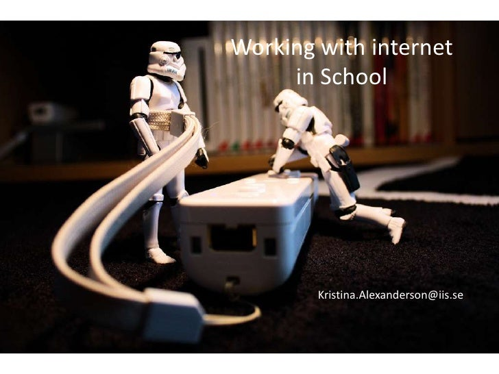 Nevereverforget the Wiimotestrap by Stéfancc(by, nc, sa)<br />Working with internet in School<br />Kristina.Alexanderson@...