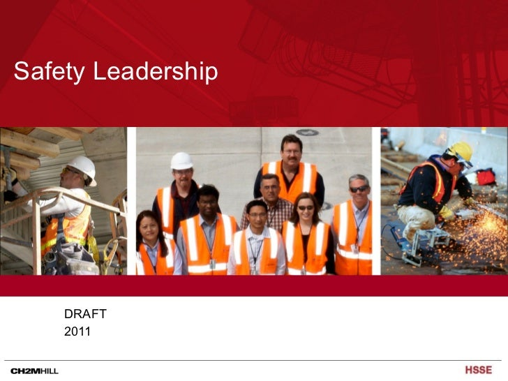 Safety leadership   what does that look like 2011