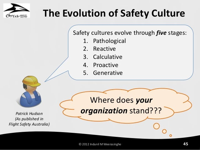 evolution of safety management Do you see your employees as problems or do you see them as opportunities we spoke with mike hart, vice president of risk management at.