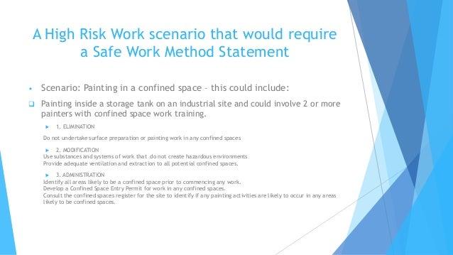 Safe work method statements swms for high risk work – Safe Work Method Statements Templates