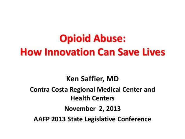Dr. Kenneth Saffier's 2013 SLC Presentation