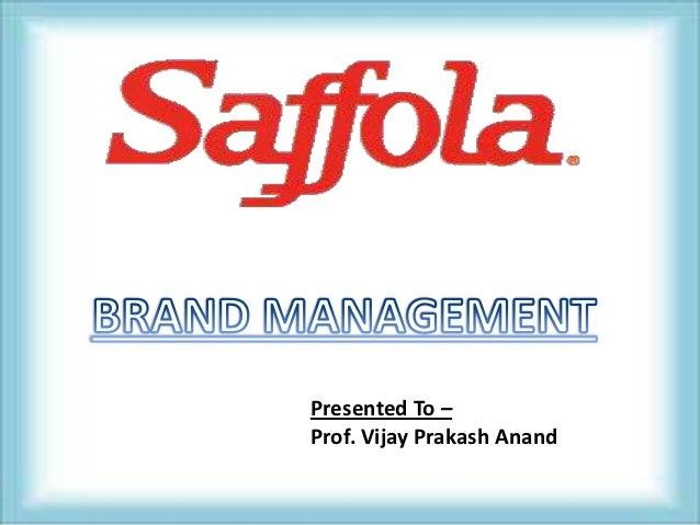 Presented To –Prof. Vijay Prakash Anand