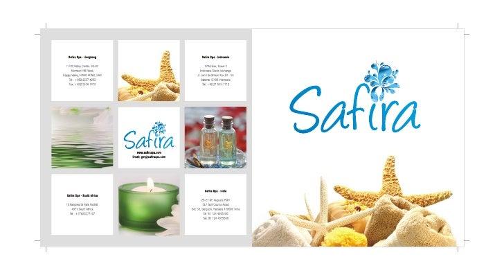 Safira Spa Brochure