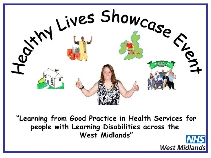 """""""Learning from Good Practice in Health Services for     people with Learning Disabilities across the                   Wes..."""