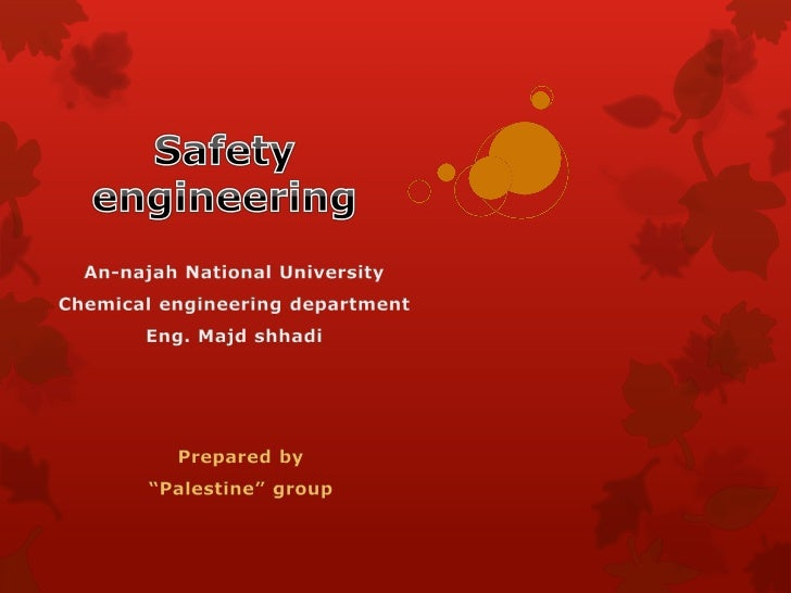  We are chemical engineering students at An-Najah National  University. Our group consist of four students in four posit...