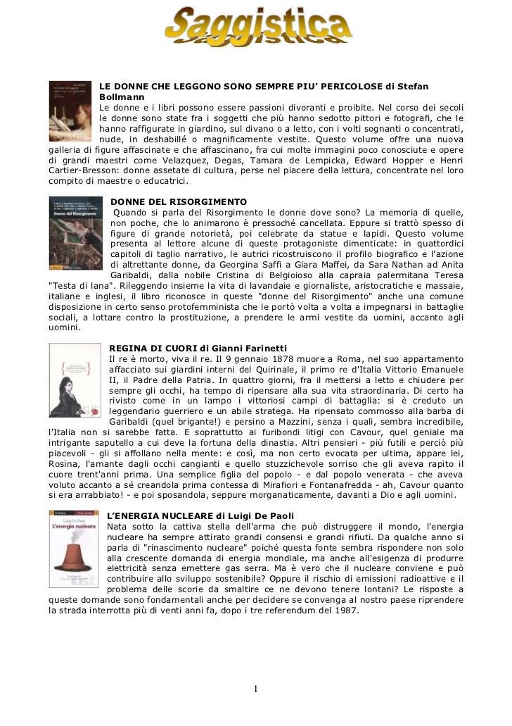 LE DONNE CHE LEGGONO SONO SEMPRE PIU' PERICOLOSE di Stefan              Bollmann              Le donne e i libri possono e...
