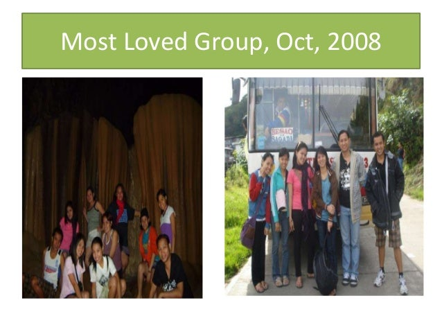 Most Loved Group, Oct, 2008
