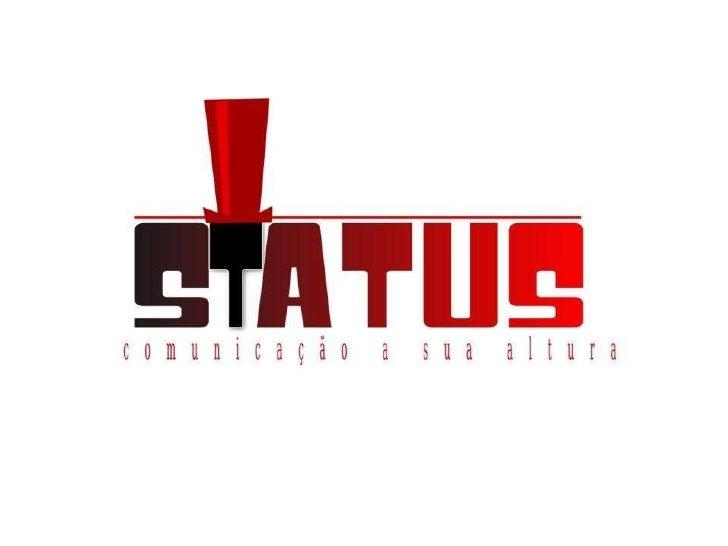 Apresentção Sagatiba - Assessoria de Comunicação Status